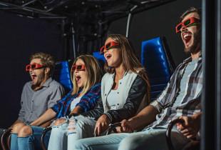5D kino bilietas šeimai