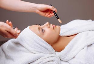 Gintarinė veido procedūra