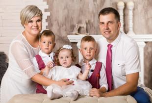 Smagi šeimos fotosesija