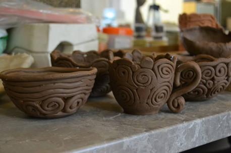 Keramikos užsiėmimas LIPDYKIME KOLEKTYVĄ