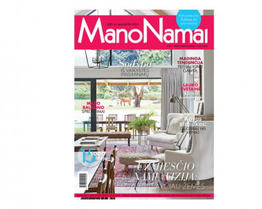 Mano namai žurnalo prenumerata