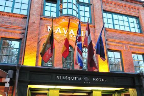 Nakvynė su pusryčiais Klaipėdoje viešbutyje NAVALIS