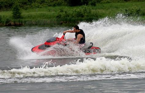 PASIPLAUKIOJIMAS vandens motociklu
