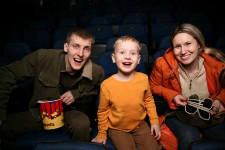 Kino centro MULTIKINO bilietai šeimai ŠEIMAI 3