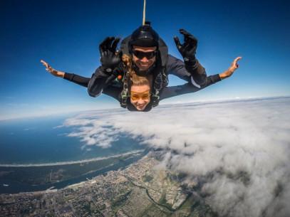 TANDEM  šuolis parašiutu