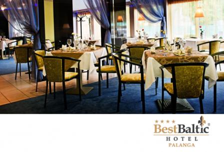 Dovanų čekis BEST BALTIC PALANGA viešbučio restorane