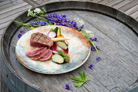 Romantiška vakarienė dviem restorane MERIDIANAS Klaipėdoje