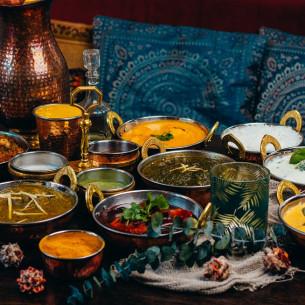 Indiška ir Tajų vakarienė išsinešimui
