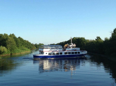 Plaukimas laivu FORELLE-FLICKA į Nidą ir atgal
