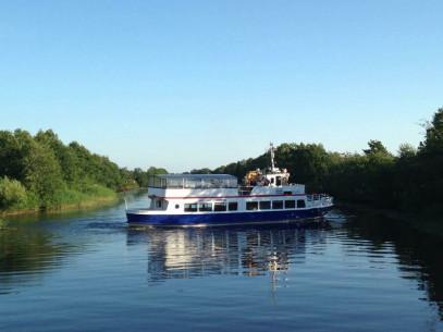 Plaukimas laivu FORELLE-FLICKA į Nidą ir atgal (vaikams)