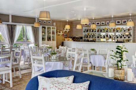 Apsilankymas dviem restorane LE VIVIER TRAKAI