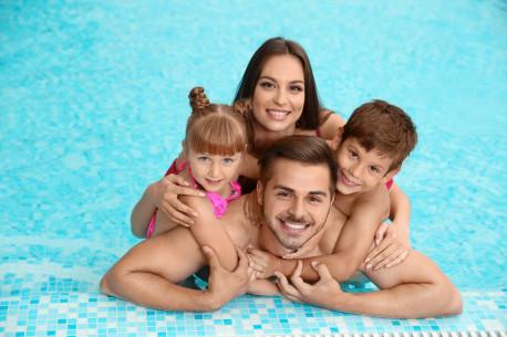 """Apsilankymas šeimai (2+2) """"Aušra SPA"""" baseino ir pirčių komplekse"""