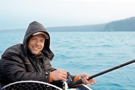 Žvejyba iš laivo Kauno mariose