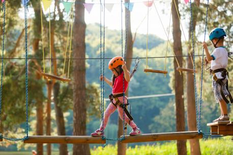 Apsilankymas nuotykių parke MINIMELTS vaikams