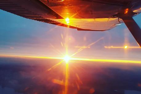 Nepakartojamas skrydis lėktuvu iki Kernavės