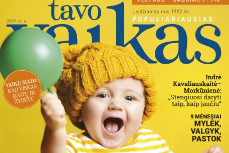 Žurnalo TAVO VAIKAS prenumerata