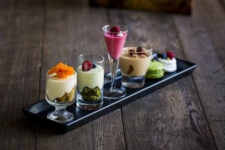 Prancūziškų desertų degustacija Haute Coutere