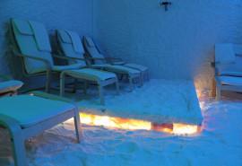 Haloterapijos (druskų kambario) seansas