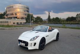 Pasivažinėjimas sportiniu Jaguar F-Type kabrioletu