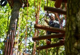 """""""7 Tarzano išbandymai"""" Tarzanijos nuotykių parke dviem"""