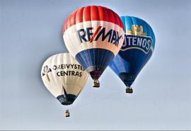 Naktinis skrydis oro balionu