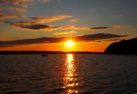 Apžvalginis saulėlydžio kruizas Kauno mariomis