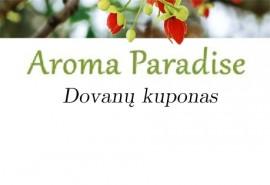 Aromaparadise.lt dovanų čekis (28,67 Eur)