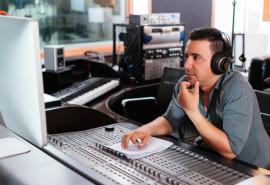 """Dainos įrašymas studijoje """"Garso Ola"""""""