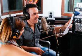 """Dainos įrašymas studijoje """"Garso Ola"""" dviem"""