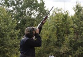 Lėkštelių šaudymas ShootingClub.lt šaudykloje dviem