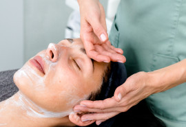 Jauninantis chiro veido masažas + odos šveitimas