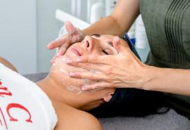 Express veido pilingas + masažas + kaukė