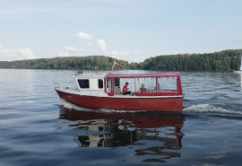 Kruizas grupei laivu po Kauno marias