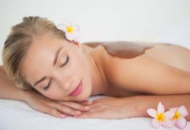 Atpalaiduojantis šokoladinis masažas su viso kūno įvyniojimu