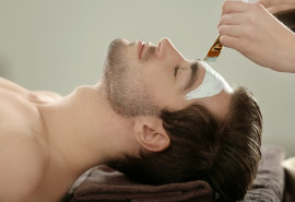 Veido odos procedūra vyrams