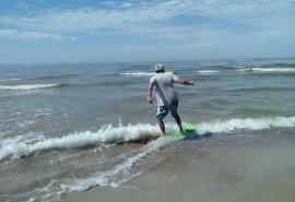 Išbandyk čiuožimą slydlente Baltijos jūroje (dviem)