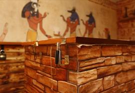 """Galvosūkių kambarys """"Faraono kapas"""""""