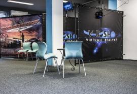 Virtualios realybės pramogos didžiausioje Lietuvoje VR žaidimų salėje